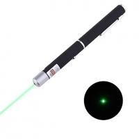 Зелёная лазерная указка в форме ручки 5мВт 532нм (2хААА) #00079213